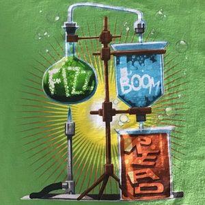 Other - Fizz Boom Read Tee Shirt Sz XL Parakeet Green